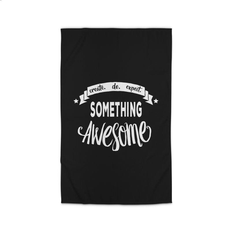 Something Awesome Home Rug by donvagabond's Artist Shop