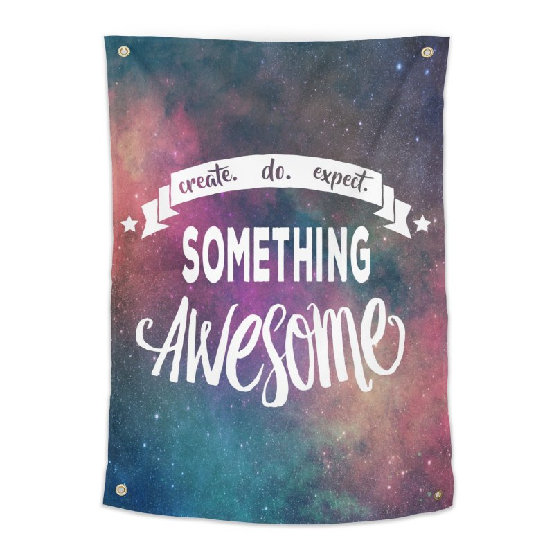 Something Awesome Home Tapestry by Don Vagabond's Artist Shop