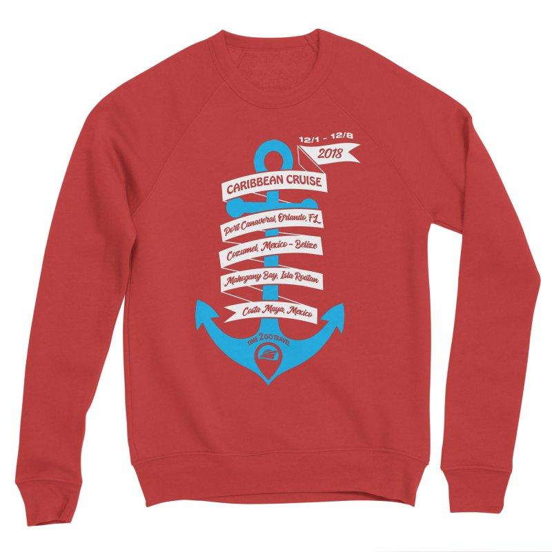 Caribbean Cruise (Time 2 Go) Women's Sponge Fleece Sweatshirt by donvagabond's Artist Shop