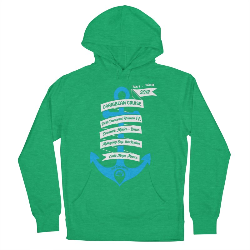 Caribbean Cruise (Time 2 Go) Men's French Terry Pullover Hoody by donvagabond's Artist Shop