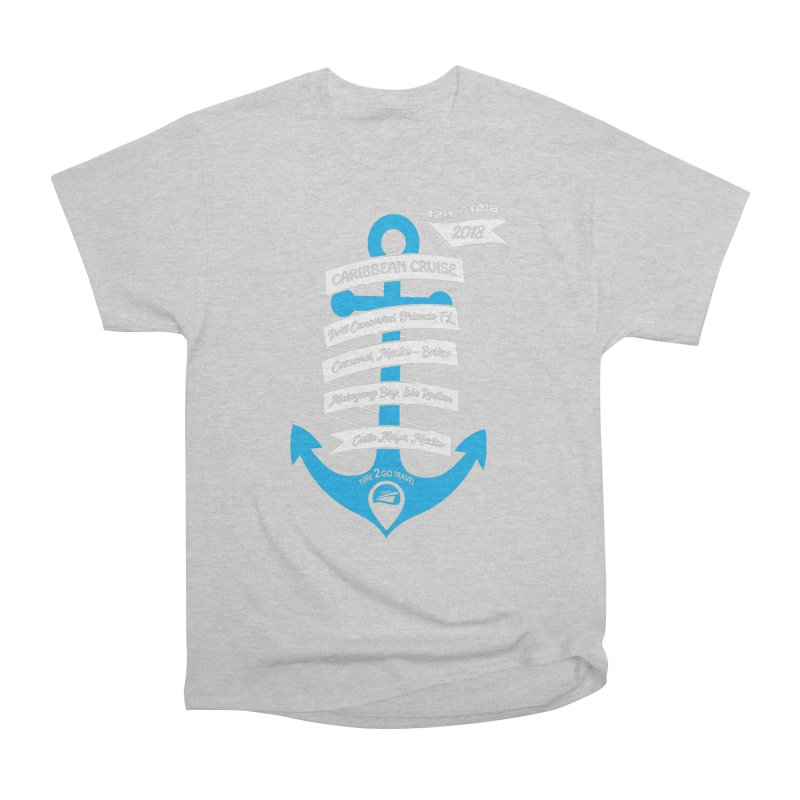 Caribbean Cruise (Time 2 Go) Men's Heavyweight T-Shirt by donvagabond's Artist Shop