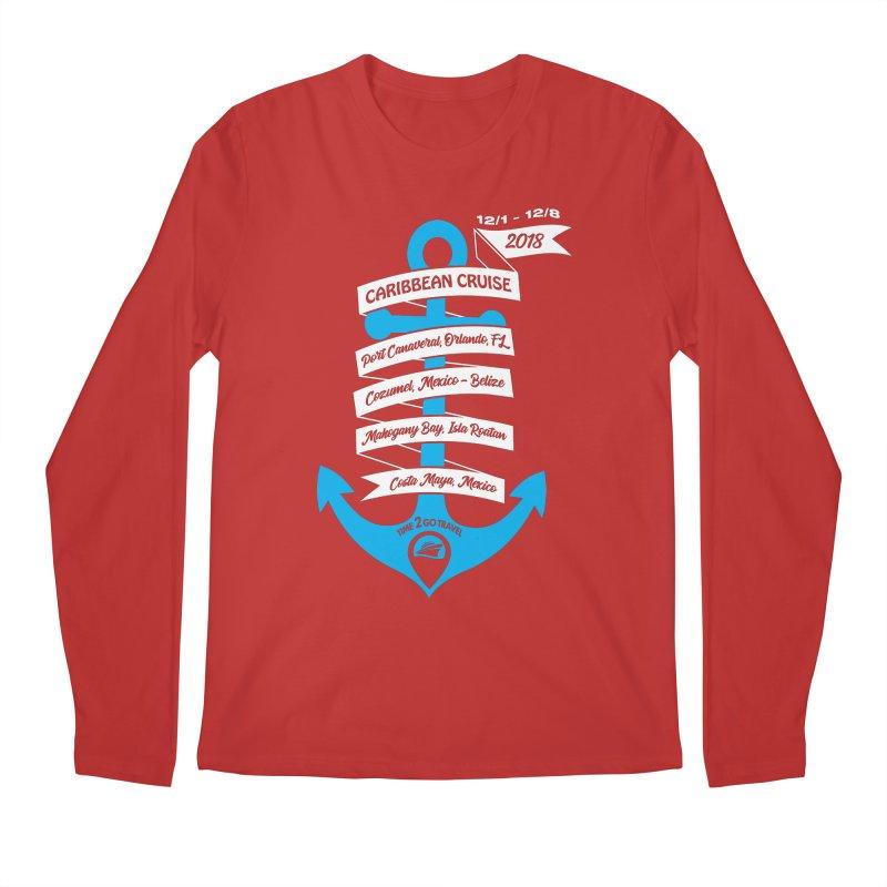 Caribbean Cruise (Time 2 Go) Men's Regular Longsleeve T-Shirt by donvagabond's Artist Shop