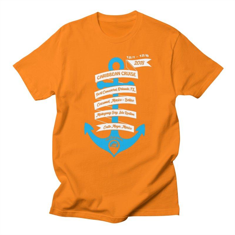 Caribbean Cruise (Time 2 Go) Men's Regular T-Shirt by donvagabond's Artist Shop