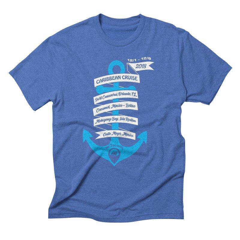 Caribbean Cruise (Time 2 Go) Men's Triblend T-Shirt by donvagabond's Artist Shop