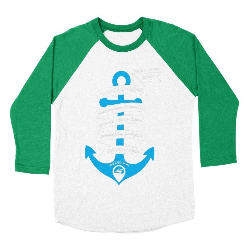 Caribbean Cruise (Time 2 Go) Men's Baseball Triblend Longsleeve T-Shirt by donvagabond's Artist Shop