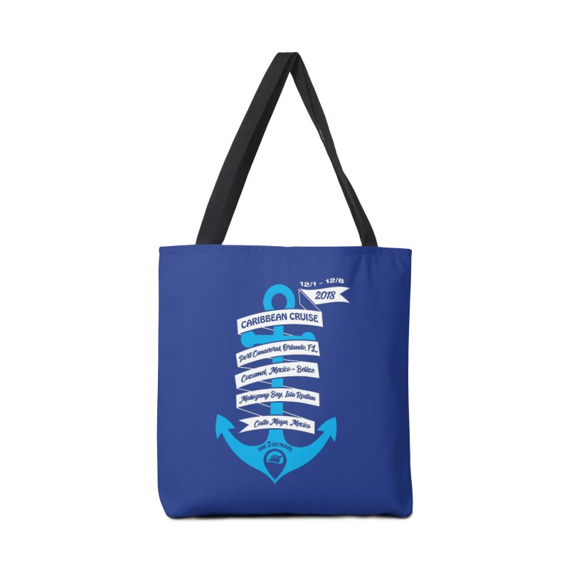 Caribbean Cruise (Time 2 Go) Accessories Bag by donvagabond's Artist Shop