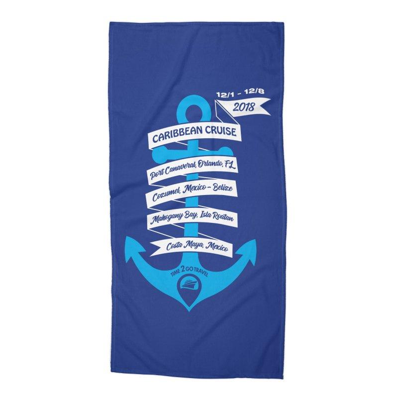 Caribbean Cruise (Time 2 Go) Accessories Beach Towel by donvagabond's Artist Shop