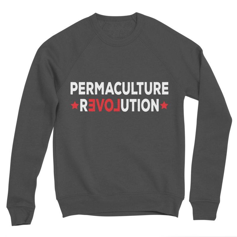 Permaculture Revolution (White) Women's Sponge Fleece Sweatshirt by Don Vagabond's Artist Shop