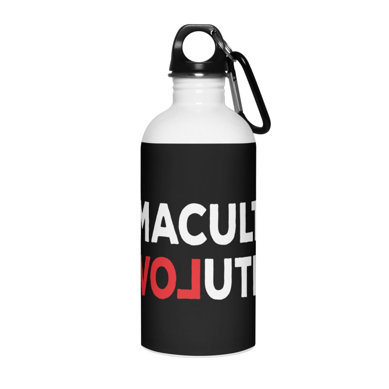 Permaculture Revolution (White) Accessories Water Bottle by donvagabond's Artist Shop