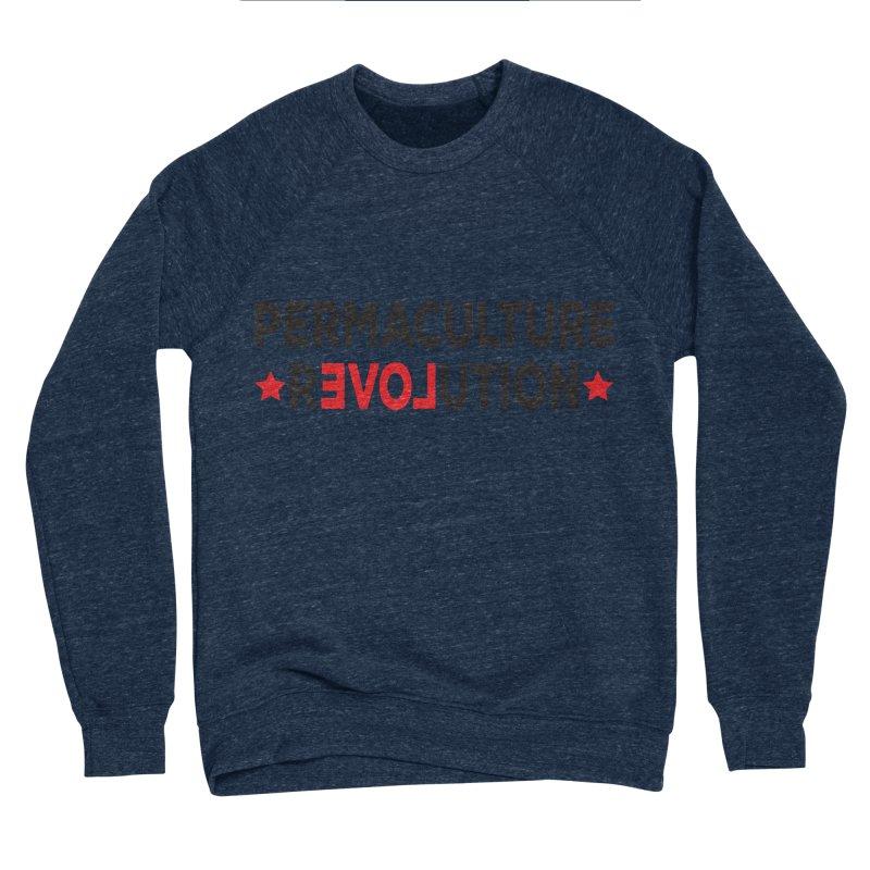 Permaculture Revolution (black) Women's Sponge Fleece Sweatshirt by donvagabond's Artist Shop