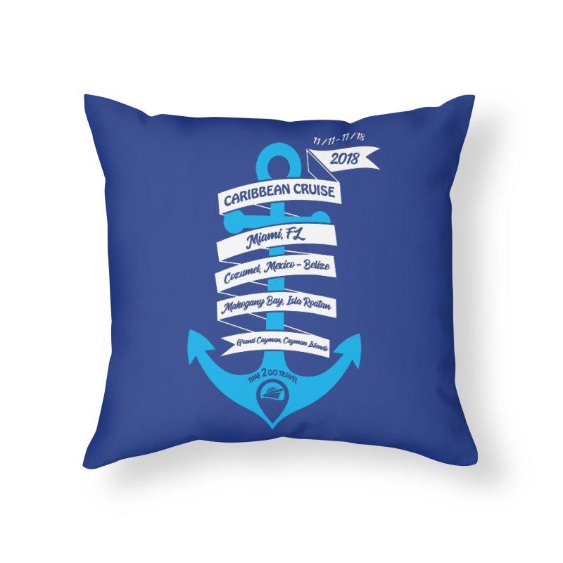 Carib Cruise 2 Home Throw Pillow by donvagabond's Artist Shop