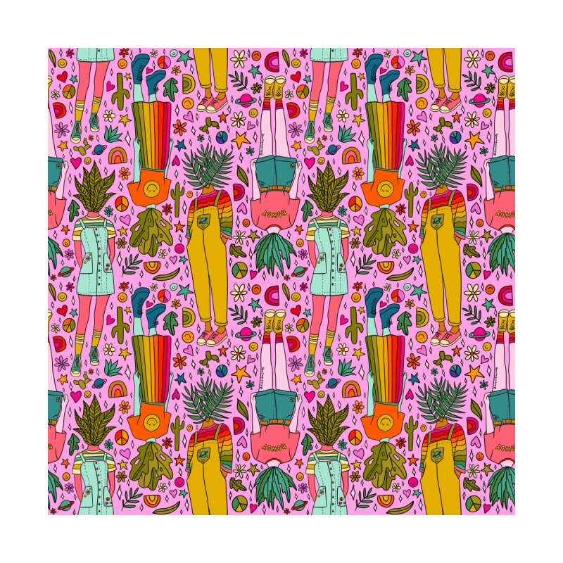 Plant Girls Print Men's Cut & Sew by doodlebymeg's Artist Shop
