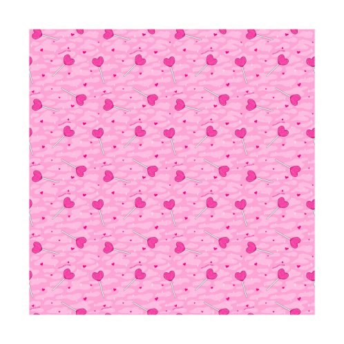 Design for Valentine Lollipop Print