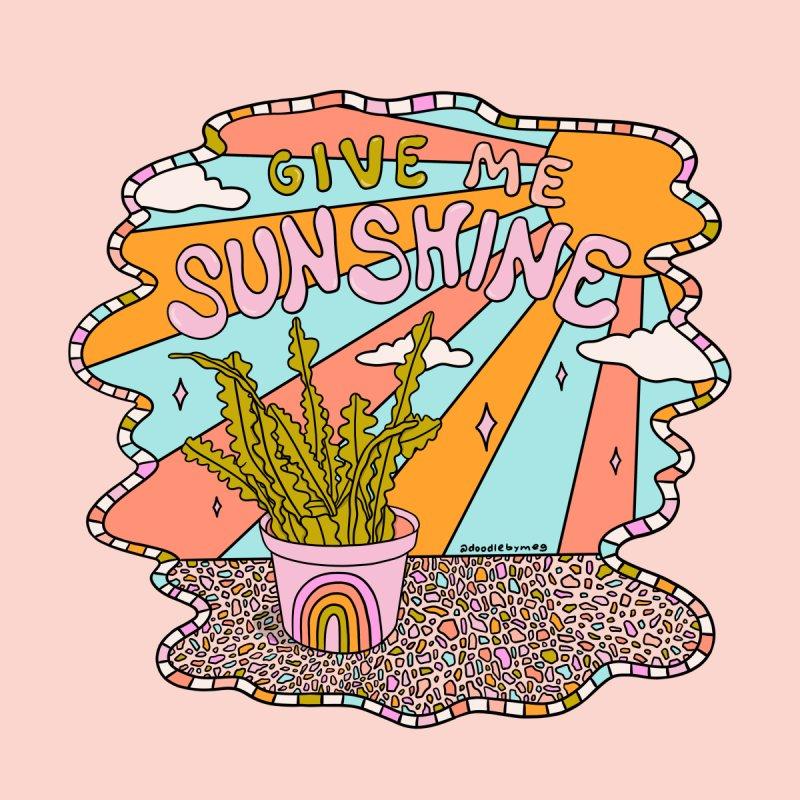 Give Me Sunshine Men's T-Shirt by doodlebymeg's Artist Shop