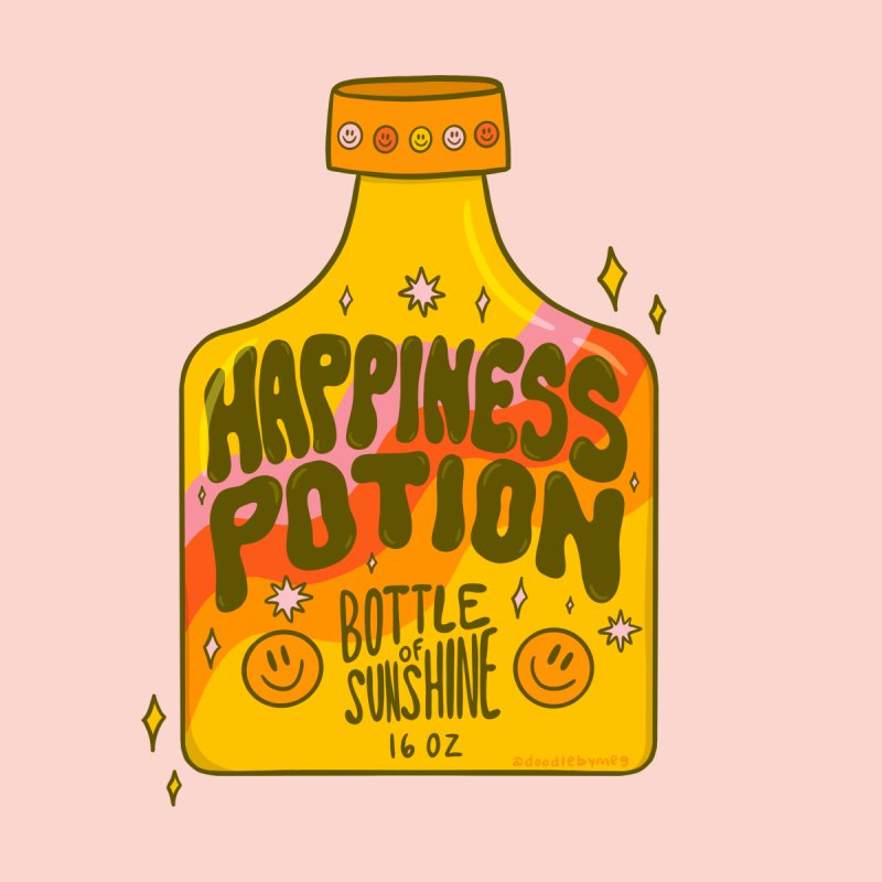 Happiness Potion Accessories Mug by doodlebymeg's Artist Shop