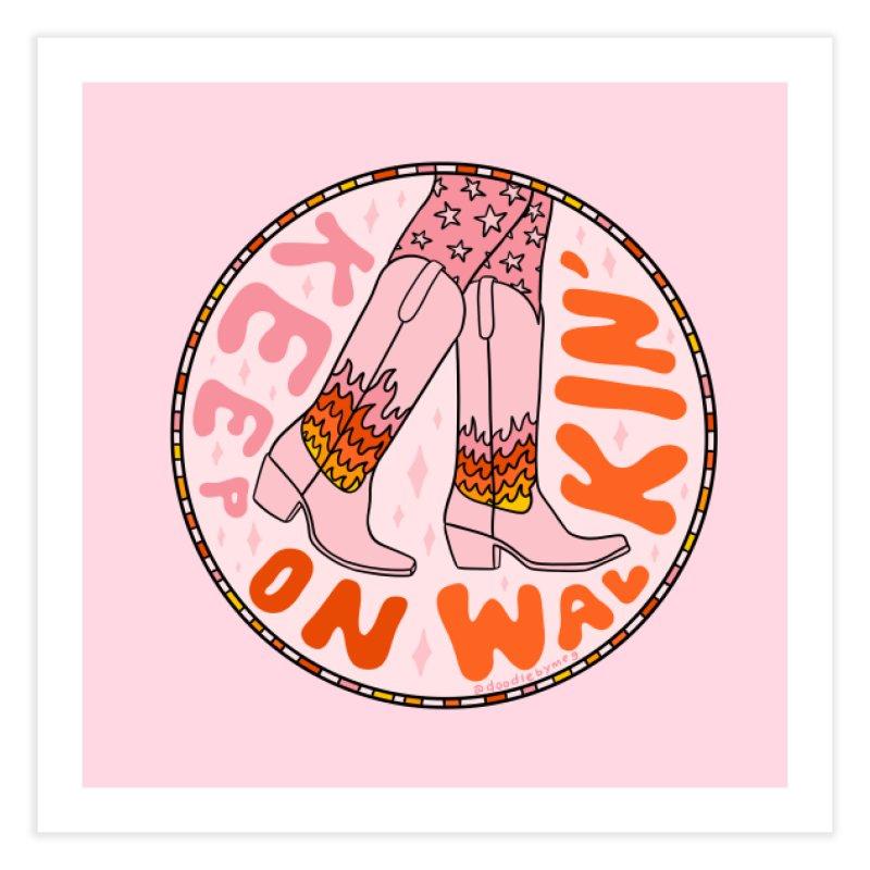 Keep On Walkin' Home Fine Art Print by doodlebymeg's Artist Shop