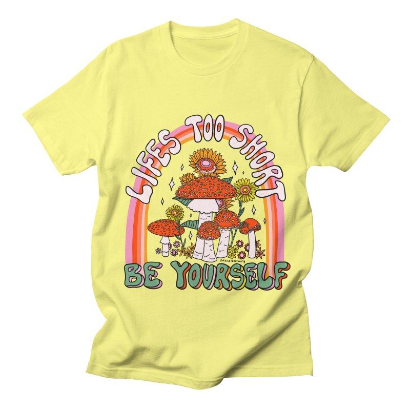 Life Too Short Men's T-Shirt by doodlebymeg's Artist Shop