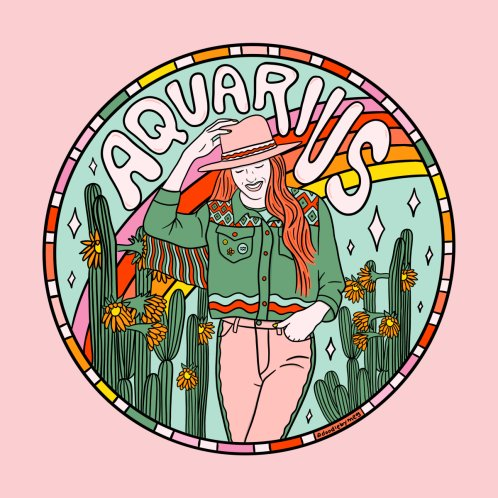 Design for Aquarius Cowgirl