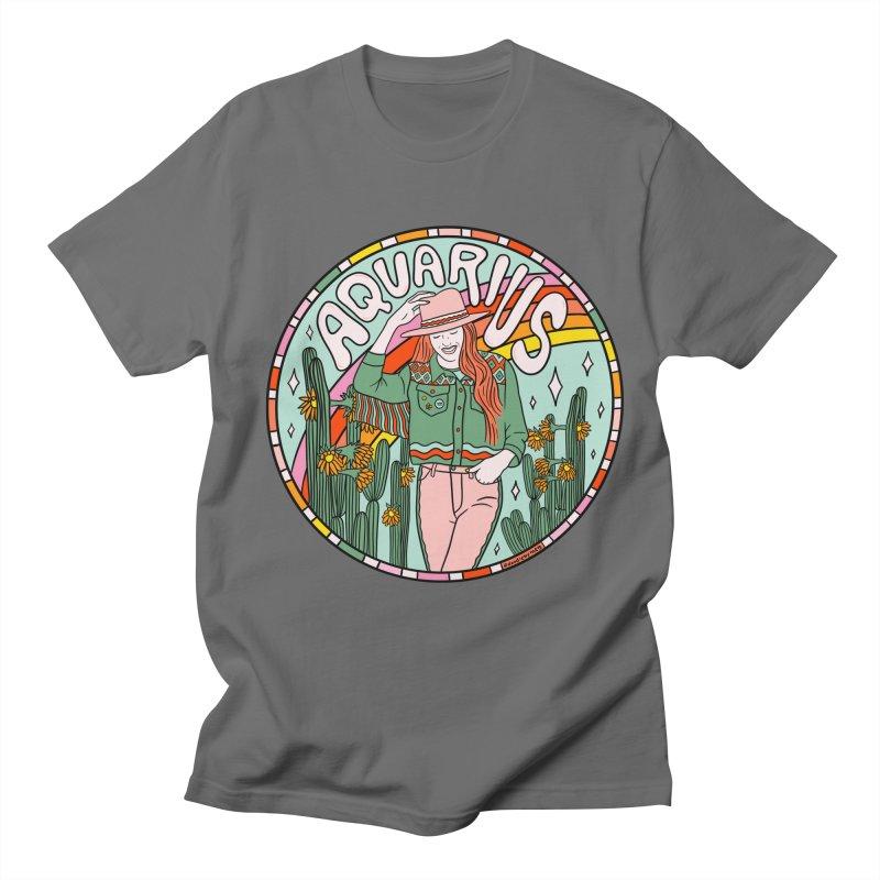 Aquarius Cowgirl Men's T-Shirt by doodlebymeg's Artist Shop