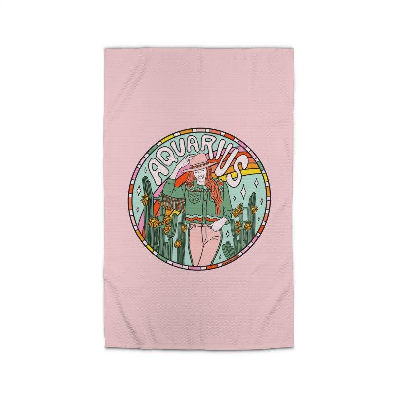 Aquarius Cowgirl Home Rug by doodlebymeg's Artist Shop