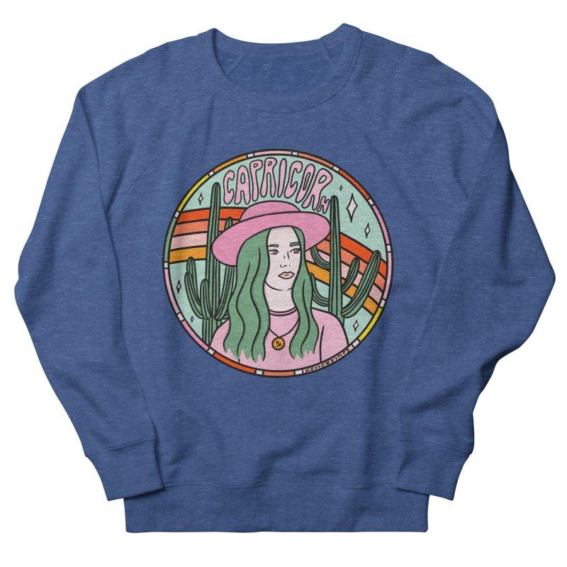 Capricorn Cowgirl Men's Sweatshirt by doodlebymeg's Artist Shop