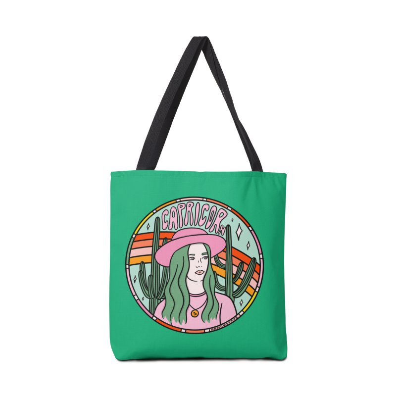 Capricorn Cowgirl Accessories Bag by doodlebymeg's Artist Shop