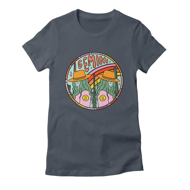 Gemini Cowgirl Women's T-Shirt by doodlebymeg's Artist Shop