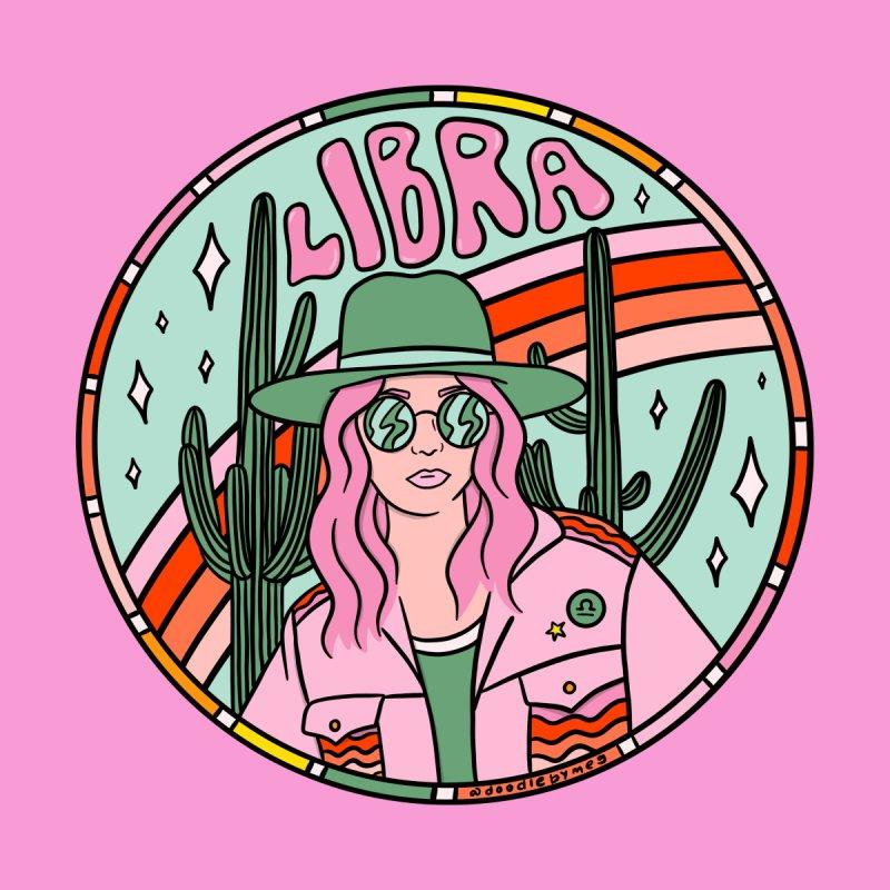 Libra Cowgirl Men's T-Shirt by doodlebymeg's Artist Shop