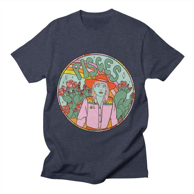 Pisces Cowgirl Men's T-Shirt by doodlebymeg's Artist Shop