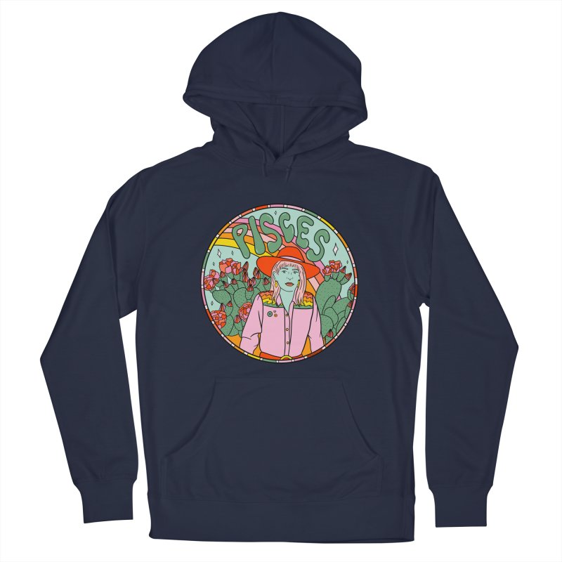 Pisces Cowgirl Men's Pullover Hoody by doodlebymeg's Artist Shop