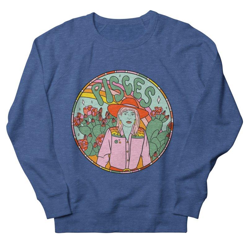 Pisces Cowgirl Men's Sweatshirt by doodlebymeg's Artist Shop