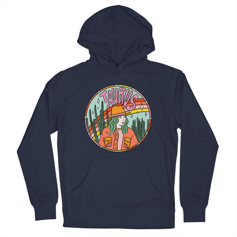 Taurus Cowgirl Men's Pullover Hoody by doodlebymeg's Artist Shop