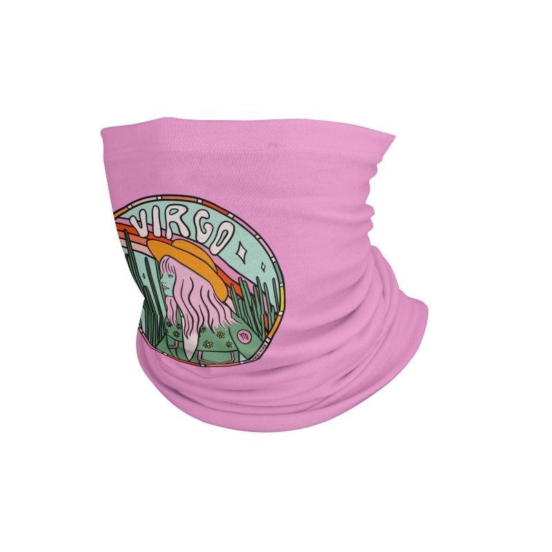 Virgo Cowgirl Accessories Neck Gaiter by doodlebymeg's Artist Shop