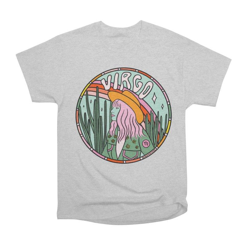 Virgo Cowgirl Men's T-Shirt by doodlebymeg's Artist Shop
