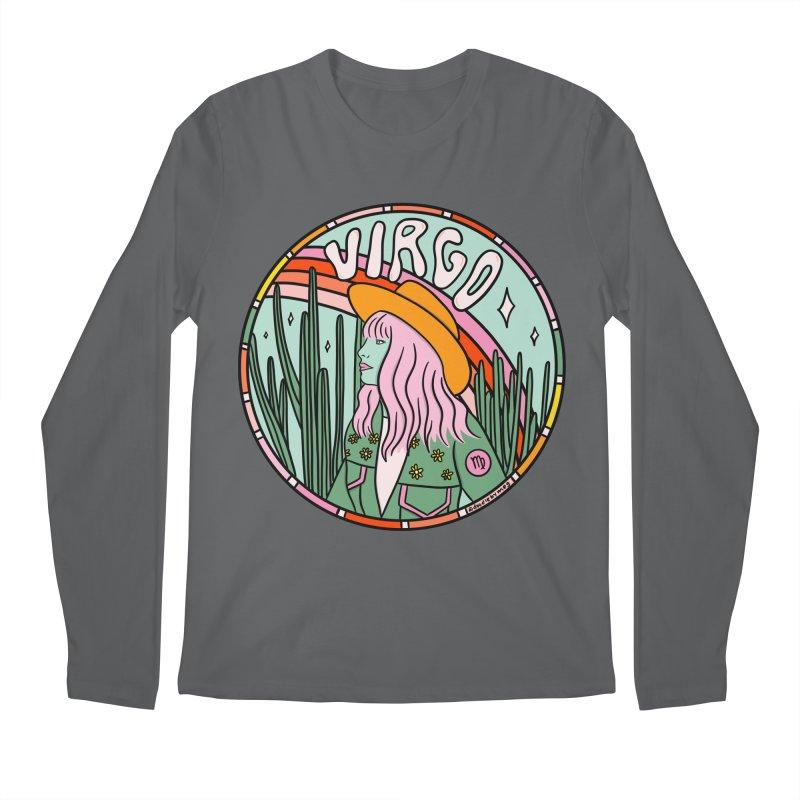 Virgo Cowgirl Men's Longsleeve T-Shirt by doodlebymeg's Artist Shop
