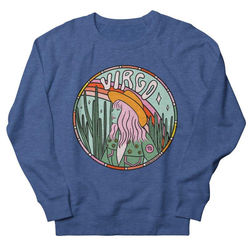 Virgo Cowgirl Men's Sweatshirt by doodlebymeg's Artist Shop