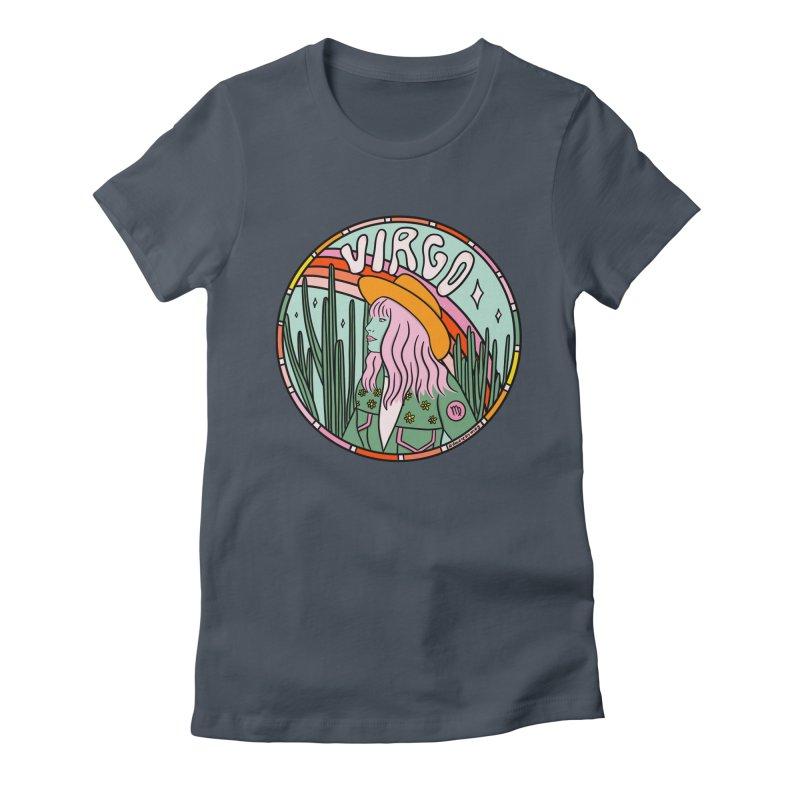 Virgo Cowgirl Women's T-Shirt by doodlebymeg's Artist Shop