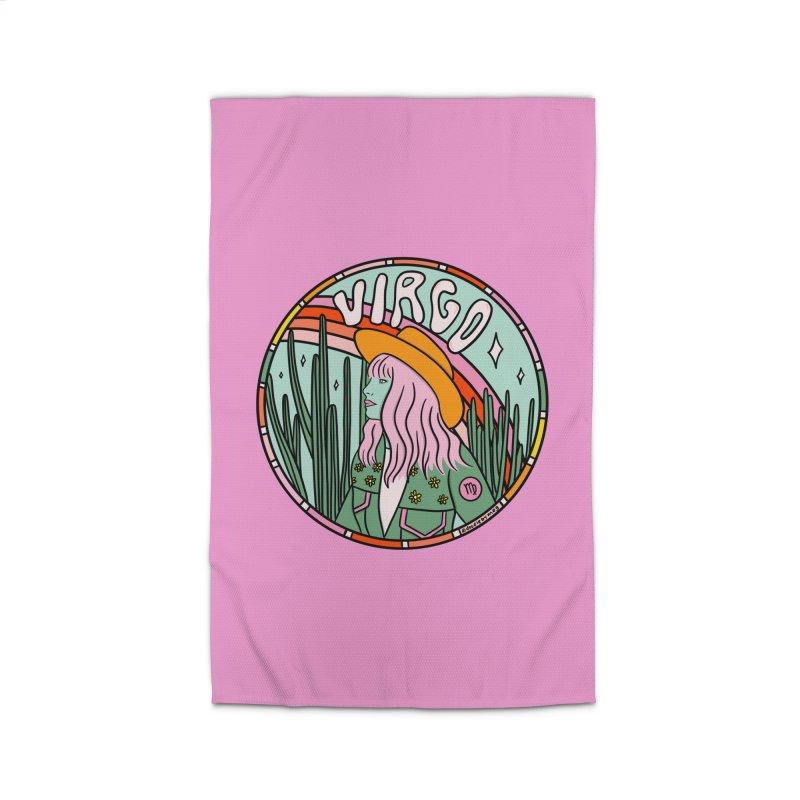 Virgo Cowgirl Home Rug by doodlebymeg's Artist Shop