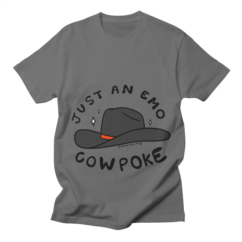 Just An Emo Cowpoke Men's T-Shirt by doodlebymeg's Artist Shop