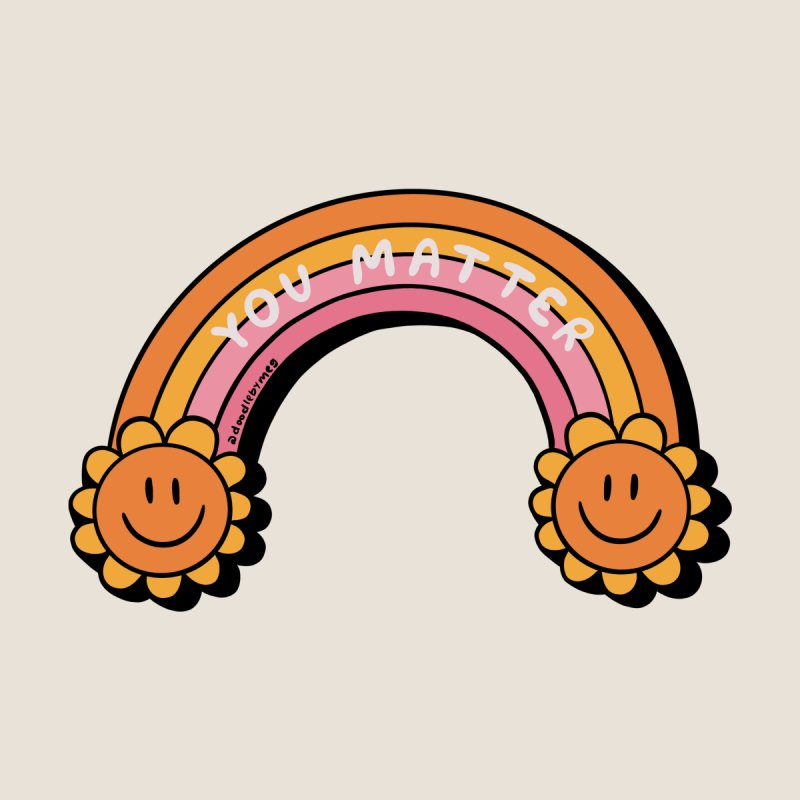 You Matter Accessories Beach Towel by doodlebymeg's Artist Shop