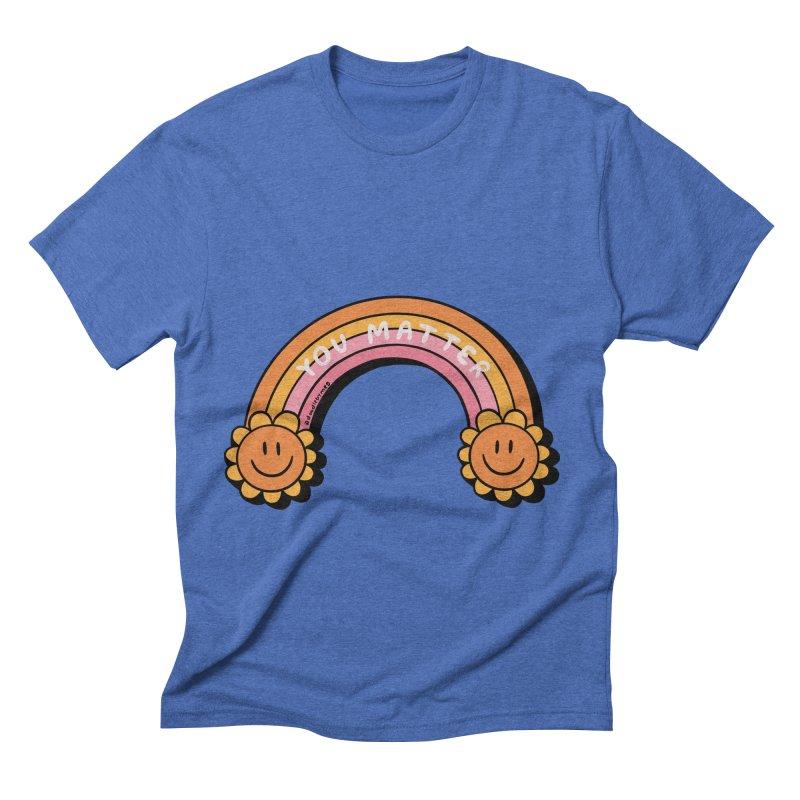You Matter Men's T-Shirt by doodlebymeg's Artist Shop