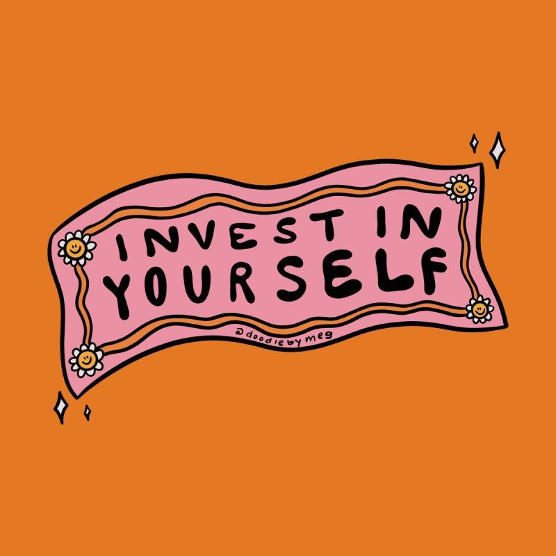 Invest in Yourself Women's Zip-Up Hoody by doodlebymeg's Artist Shop