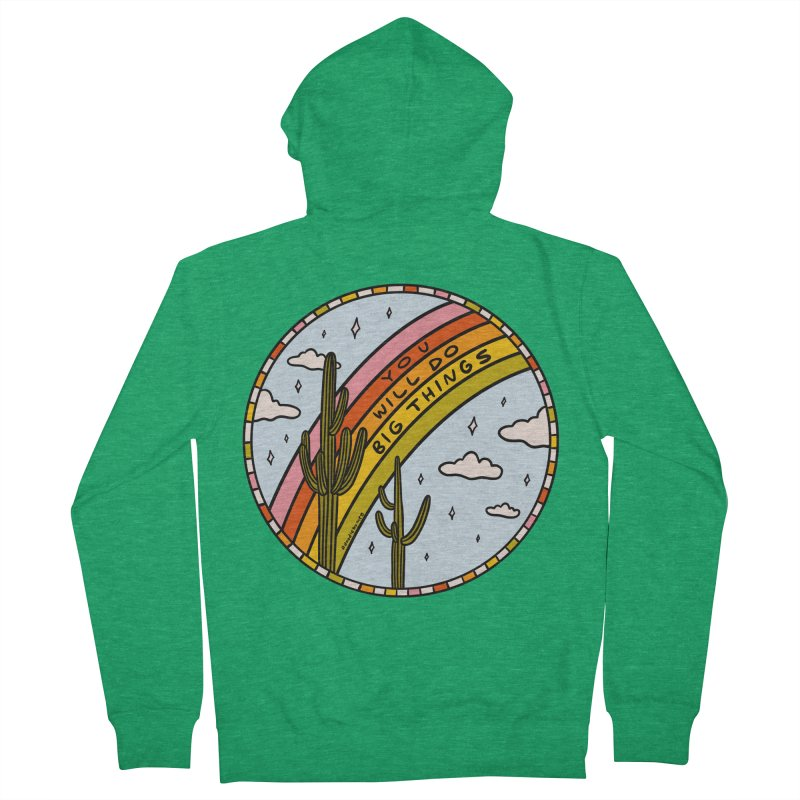 You Will Do Big Things Women's Zip-Up Hoody by doodlebymeg's Artist Shop