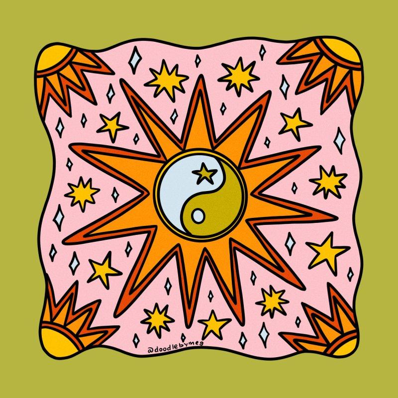 Yin Yang Sun Kids Pullover Hoody by doodlebymeg's Artist Shop