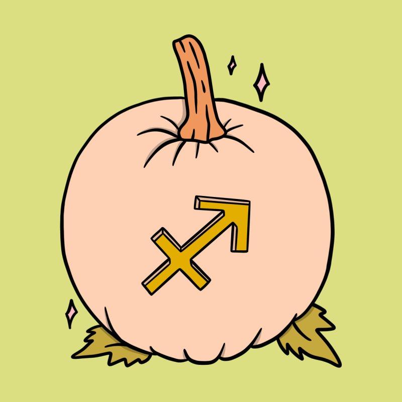 Sagittarius Pumpkin Men's T-Shirt by doodlebymeg's Artist Shop