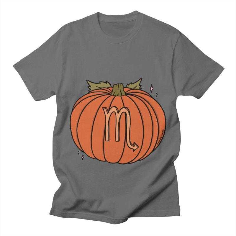 Scorpio Pumpkin Men's T-Shirt by doodlebymeg's Artist Shop