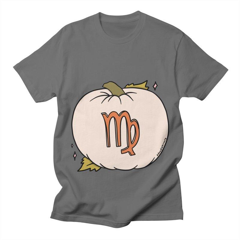 Virgo Pumpkin Men's T-Shirt by doodlebymeg's Artist Shop