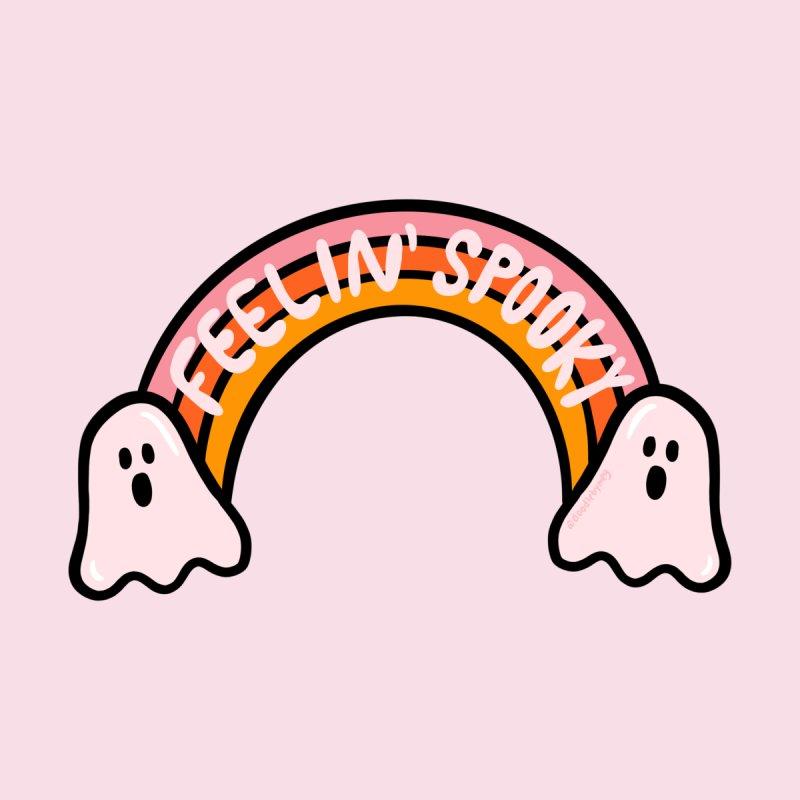 Feelin' Spooky Men's T-Shirt by doodlebymeg's Artist Shop