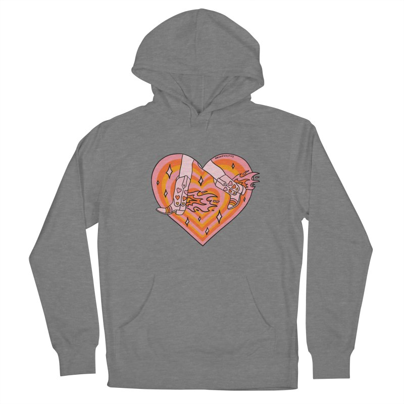 Running Cowgirl Women's Pullover Hoody by doodlebymeg's Artist Shop