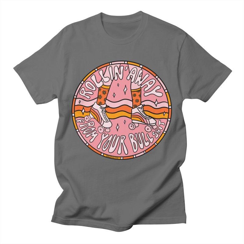 Rollin' Away Men's T-Shirt by doodlebymeg's Artist Shop